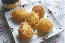 カマンベールチーズのおつまみフライ