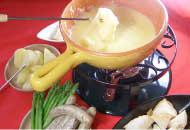 フォンデュラッペのチーズフォンデュ