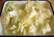 キャベツとアンチョビのチーズ焼き