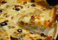 ブルーチーズのピッツァ
