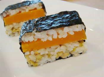 チーズ押し寿司