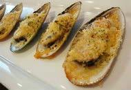 ムール貝のプチグラタン