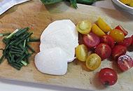 モッツァレラとパルメザンチーズ焼き若鳥胸肉