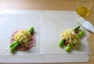 アスパラととろ~りチーズの簡単春巻き