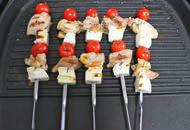 ハルーミの串焼き