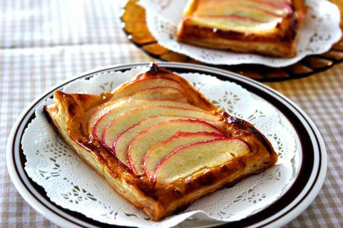 ゴートチーズアップルパイ