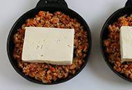 コンテと豆腐の肉みそグラタン