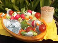 コロコロ野菜の初夏サラダ