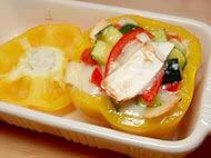 シェーブルチーズのサラダ