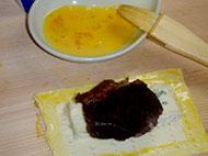 ブルーチーズのビーフパイ