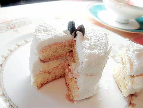 クリームチーズで作る簡単ミニケーキ