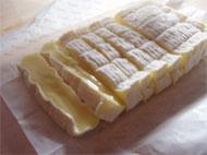 チーズとマスタードチキンの重ね焼き
